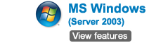 MS Windows (server 2003)